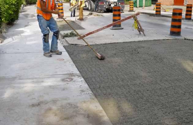 Concrete Pavement Peoria Illinois